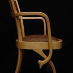 Chaise fauteuil Eléphant art nouveau moderne Hetre peau d'autruche 03_L