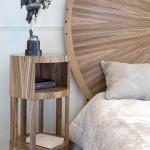 Table de chevet art déco moderne ronde soleil zebrano 02_L