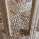 Table de chevet art déco moderne ronde soleil zebrano 05_L